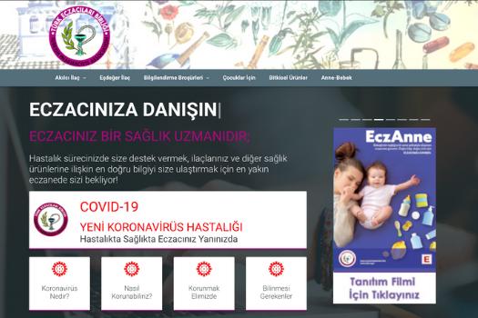 www.eczacinizadanisin.info web sitemiz 'COVID-19 YENİ KORONAVİRÜS HASTALIĞI' İLE GÜNCELLENDİ